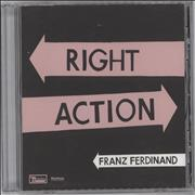 Click here for more info about 'Franz Ferdinand - Right Action'