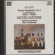 Click here for more info about 'Franz Joseph Haydn - Famous Symphonies, Vol 1 No.100 'Military / No.82 The Bear / No.96 The Miracle'