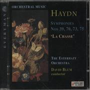Click here for more info about 'Franz Joseph Haydn - Haydn Symphonies Nos 39, 70, 73, 75 'La Chasse''