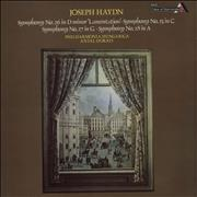 Click here for more info about 'Franz Joseph Haydn - Symphonies No. 26 D minor 'Lamentation'; No. 25 in C; No. 27 in G; No. 28 in A'