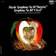 Click here for more info about 'Franz Joseph Haydn - Symphony No. 94 'Surprise' & Symphony No. 101 'Clock''