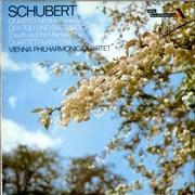 Franz Schubert Quartet No. 10 & 14, Der Tod und das Madchen UK vinyl LP