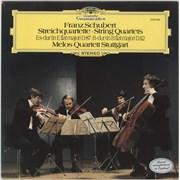 Melos Quartett Schubert: Streichquartette • String Quartets / Es-Dur (In E Flat Major) D.87 • B-Dur UK vinyl LP