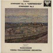 Franz Schubert Schubert: Symphony No. 8 In B Minor, D. 759 (Unfinished) / Symphony No. 2 In B Flat, D. 125 UK vinyl LP