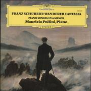 Franz Schubert Schubert: Wanderer-Fantasie / Klaviersonate A-moll D. 845 - Piano Sonata In A Minor UK vinyl LP