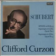 Franz Schubert Sonata In D, Op. 53 - boxed label UK vinyl LP