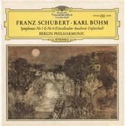 Franz Schubert Symphonien Nr. 5 & Nr. 8 (Unvollendete Inachevée Unfinished) UK vinyl LP
