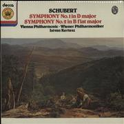 Click here for more info about 'Franz Schubert - Symphony No. 1 In D Major/ Symphony No. 2 In B Flat Major'