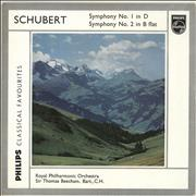 Click here for more info about 'Franz Schubert - Symphony No. 1 in D / Symphony No. 2 in B Flat'