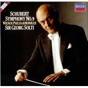 Franz Schubert Symphony No. 9 UK vinyl LP