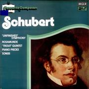 Click here for more info about 'Franz Schubert - 'Unfinished' Symphony / Rosamunde / Piano Pieces / Songs'