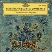 Franz Schubert Vierhändige Klaviermusik (Compositions For Piano Duet · Compositions Pour Piano A Quatre Mains) Germany vinyl LP