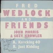 Click here for more info about 'Knocking 40 - Autographed'