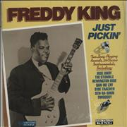 Click here for more info about 'Freddie King - Just Pickin''