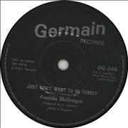 Click here for more info about 'Freddie McGregor - Just Don't Want To Be Lonely - Solid'