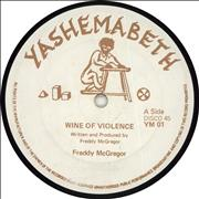 Click here for more info about 'Freddie McGregor - Wine Of Violence'
