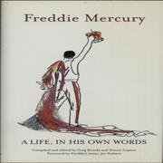 Click here for more info about 'Freddie Mercury - A Life, In His Own Words'