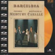 Click here for more info about 'Freddie Mercury - Barcelona - C.D. Video'