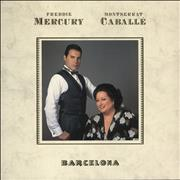 Click here for more info about 'Freddie Mercury - Barcelona - Embossed Sleeve'