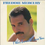 Click here for more info about 'Freddie Mercury - I Was Born To Love You - gold promo stamped'