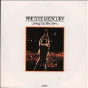 Click here for more info about 'Freddie Mercury - Living On My Own - 1st'