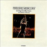 Click here for more info about 'Freddie Mercury - Living On My Own - Gatefold'