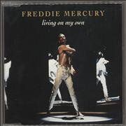 Click here for more info about 'Freddie Mercury - Living On My Own - Remixes'