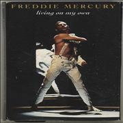 Click here for more info about 'Freddie Mercury - Living On My Own'