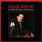 Click here for more info about 'Freddie Mercury - Love Me Like There's No Tomorrow'