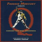 Click here for more info about 'Freddie Mercury - The Freddie Mercury Tribute Concert For Aids Awareness'