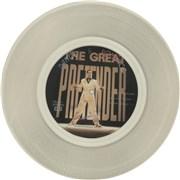 """Freddie Mercury The Great Pretender - Clear Vinyl Hong Kong 12"""" vinyl Promo"""