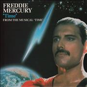 Click here for more info about 'Freddie Mercury - Time + inner sleeve'
