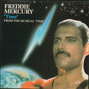 Click here for more info about 'Freddie Mercury - Time - Glossy P/S'