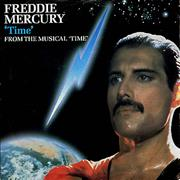 Click here for more info about 'Freddie Mercury - Time - Matt picture sleeve'