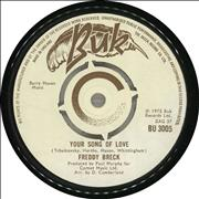 Click here for more info about 'Freddy Breck - Your Song Of Love'