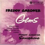 "Freddy Gardner Gems UK 7"" vinyl"