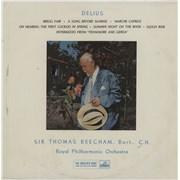 Click here for more info about 'Frederick Delius - Delius - 1st'