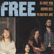 Click here for more info about 'Free - All Right Now - P/S'