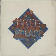 Click here for more info about 'Free - Free At Last - Pink Rim - EX'