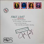 Click here for more info about 'Free Live! - 2nd - Autographed'