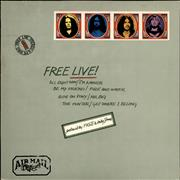 Click here for more info about 'Free - Free Live! - Blue Label'