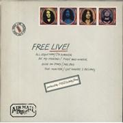 Free Free Live! - 3rd UK vinyl LP