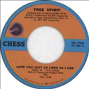 Click here for more info about 'Free Spirit - Love You Just As Long As I Can'