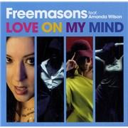 Freemasons Love On My Mind UK CD single