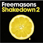 Freemasons Shakedown 2 UK 2-CD album set