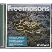 Freemasons Unmixed UK CD album