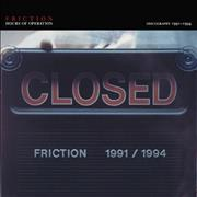 Click here for more info about 'Friction - Hours Of Operation: Discography 1991-1994'