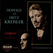 Click here for more info about 'Fritz Kreisler - Homage to Fritz Keisler'