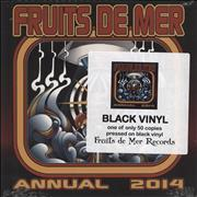 Click here for more info about 'Fruits De Mer Records - Fruits De Mer Annual 2014 - Black Vinyl - Sealed'