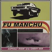 Click here for more info about 'Fu Manchu - Asphalt Risin' - Red Vinyl + Sticker'